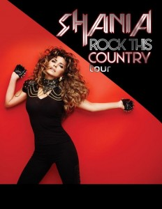 Shania Twain Rock This Country Tour