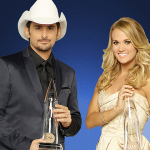 49th Annual CMA Awards Carrie Underwood Brad Paisley