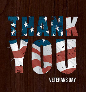 Thank You Veterans Day